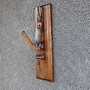 Для дома и интерьера handmade. Livemaster - original item Wall hanger wooden. Handmade.