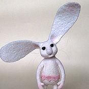 """Куклы и игрушки ручной работы. Ярмарка Мастеров - ручная работа Любовный кролик """"Пуговка"""". Handmade."""