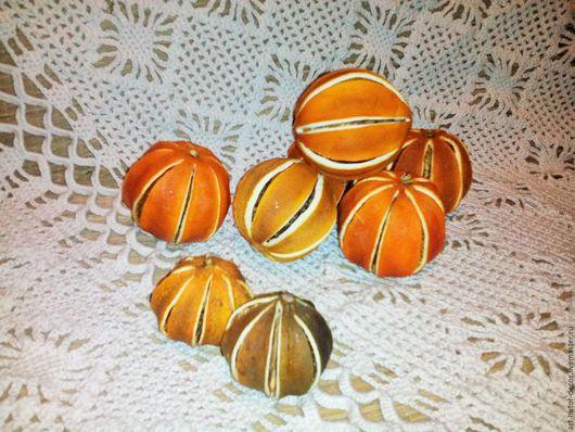 Материалы для флористики ручной работы. Ярмарка Мастеров - ручная работа. Купить Апельсин, лайм, мандарин сушеный, круглый. Handmade.