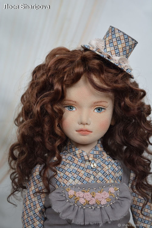 Fabric collection doll Francesca, Dolls, Tolyatti,  Фото №1