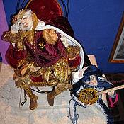 Куклы и игрушки ручной работы. Ярмарка Мастеров - ручная работа КОРОЛЬ И ШУТ. Handmade.