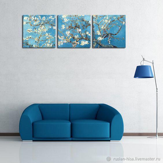 Ветка миндаля Ван Гога, Картины, Санкт-Петербург,  Фото №1