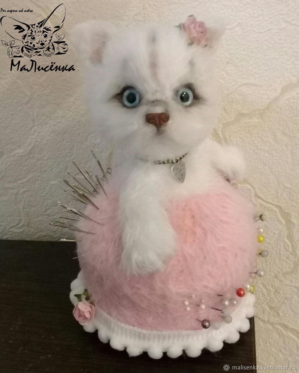 Pincushion pussy, Stuffed Toys, Angarsk,  Фото №1