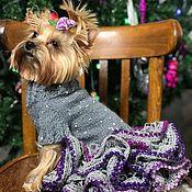 Одежда для питомцев ручной работы. Ярмарка Мастеров - ручная работа Платье для собаки. Handmade.
