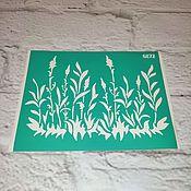 Материалы для творчества handmade. Livemaster - original item Stencil adhesive reusable 6872. Handmade.