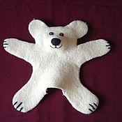 Куклы и игрушки ручной работы. Ярмарка Мастеров - ручная работа Игрушка би-ба-бо. Мишка-медведь.. Handmade.