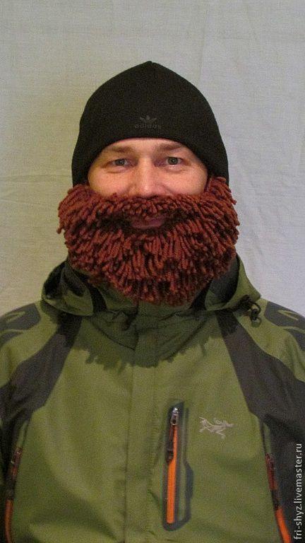 """Приколы ручной работы. Ярмарка Мастеров - ручная работа. Купить Борода """" Бородач"""" коричневая. Handmade. Коричневый, сувениры и подарки"""