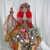 Куклы и игрушки handmade. Livemaster - original item Sculpture textile doll Veselin. Handmade.