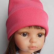 Куклы и игрушки ручной работы. Ярмарка Мастеров - ручная работа Шапка-бини для кукол Паола Рейна. Handmade.
