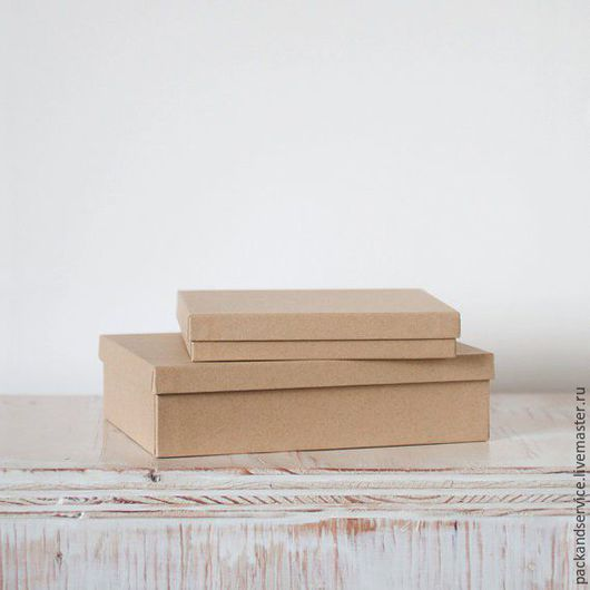 Подарочная упаковка ручной работы. Ярмарка Мастеров - ручная работа. Купить Крафт-коробки. Handmade. Коричневый, крафт коробка
