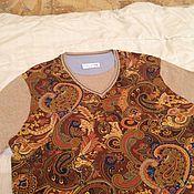 Одежда ручной работы. Ярмарка Мастеров - ручная работа свитер мужской летний. Handmade.