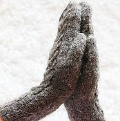 Аксессуары ручной работы. Ярмарка Мастеров - ручная работа Варежки из козьего пуха Метелица. Handmade.