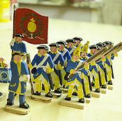 Шведская армия Карла XII (Упландский полк) 13 фигур