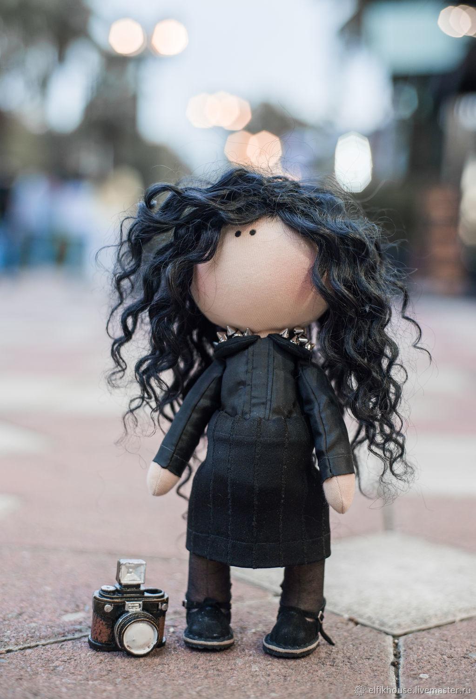Интерьерная кукла Брунгильда, Тыквоголовка, Сочи,  Фото №1