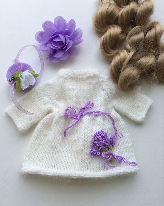 Одежда для кукол ручной работы. Ярмарка Мастеров - ручная работа. Купить Платье для куклы.. Handmade. Платье для куклы, одежда для кукол