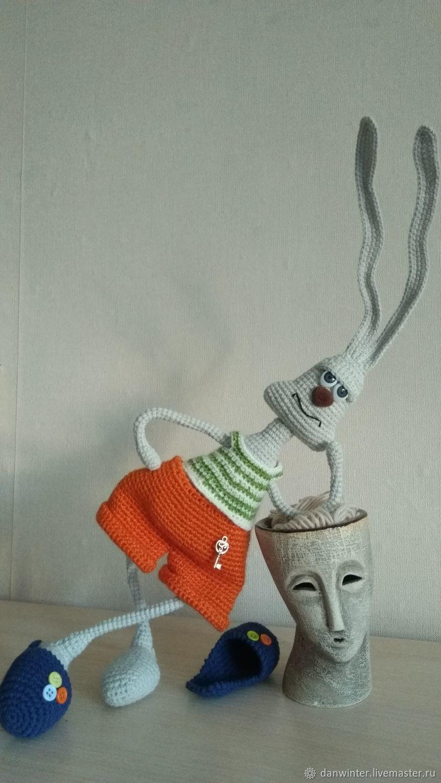 "Заяц ""Доброе утро"", Мягкие игрушки, Александров,  Фото №1"