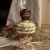 """Для дома и интерьера ручной работы. Ярмарка Мастеров - ручная работа Керосиновая лампа """"Соловьиная роща"""". Handmade."""