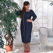 """Платья ручной работы. Ярмарка Мастеров - ручная работа Платья-футляр """"Джульетта"""" платье карандаш большие размеры. Handmade."""