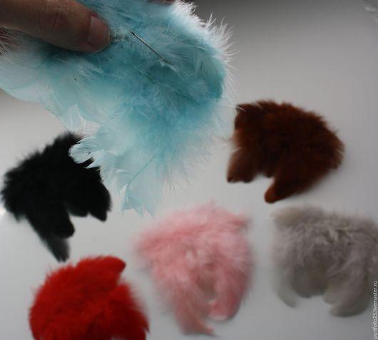Куклы и игрушки ручной работы. Ярмарка Мастеров - ручная работа. Купить Крылья мини БРОШЬ. Handmade. Кремовый, красный, крылышки