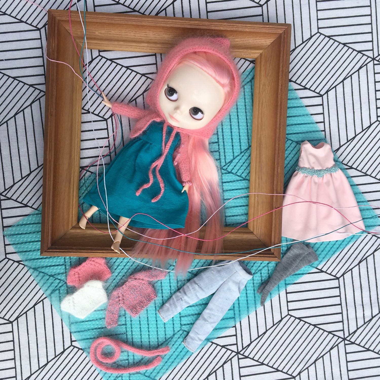 Набор одежды «Бабл гам» для куклы Blythe, Одежда для кукол, Воронеж,  Фото №1