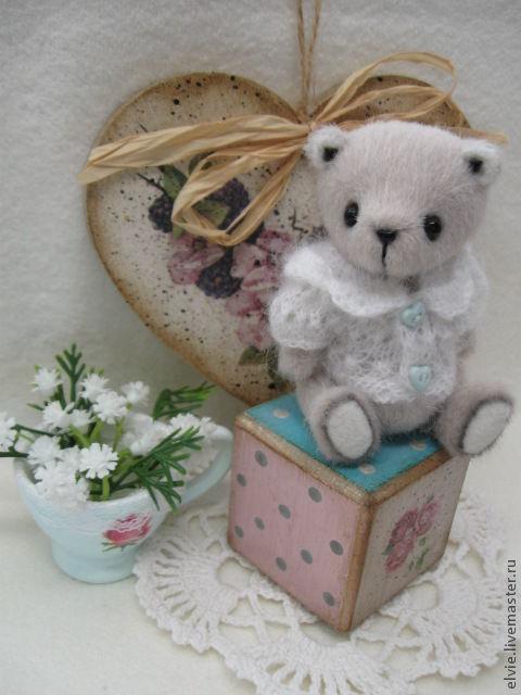 Мишки Тедди ручной работы. Ярмарка Мастеров - ручная работа. Купить Мишка.. Handmade. Серый, тедди