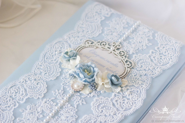 Папка для свидетельства о браке, Папки, Уфа,  Фото №1