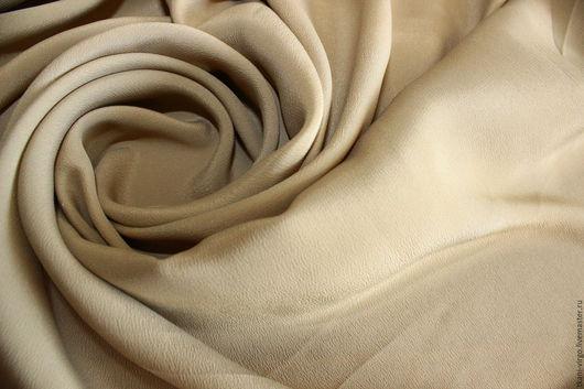Шитье ручной работы. Ярмарка Мастеров - ручная работа. Купить Итальянский плательно-блузочный крепдешин MAX MARA,1500руб-м. Handmade.