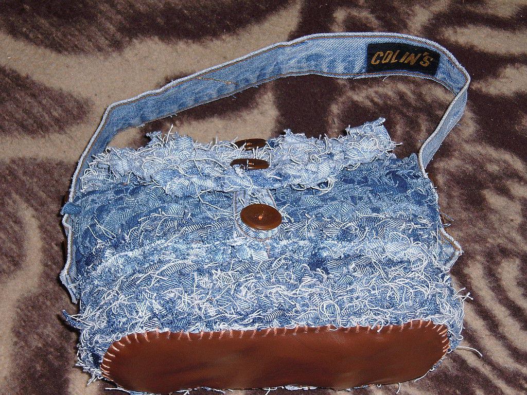 джинсовая сумка, Сумки, Омск, Фото №1