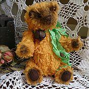 Куклы и игрушки ручной работы. Ярмарка Мастеров - ручная работа Мишка Тедди SUNFLOWER (подсолнух). Handmade.