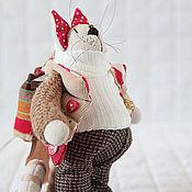 Куклы и игрушки ручной работы. Ярмарка Мастеров - ручная работа Коты. Кот-рыбак. Handmade.