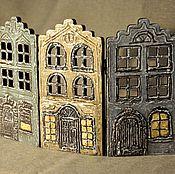 Для дома и интерьера ручной работы. Ярмарка Мастеров - ручная работа Мини-ширма-подсвечник. Handmade.