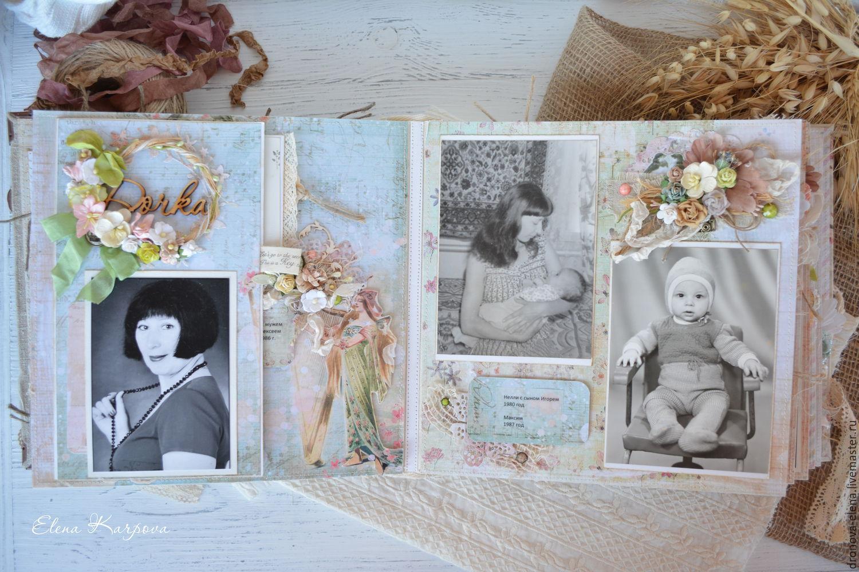Ярмарка · Фотоальбомы ручной работы. Семейный архив. Елена Карпова  (dronova-elena). Ярмарка · Фотоальбомы ... 26b4208bee7