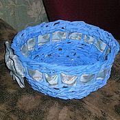Подарки к праздникам ручной работы. Ярмарка Мастеров - ручная работа Плетеные корзиночки. Handmade.