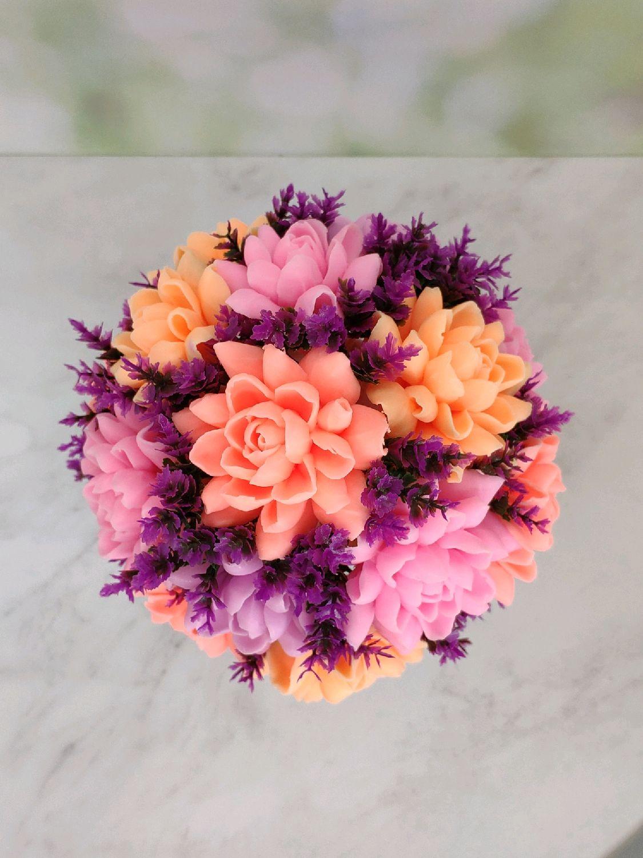 Букет из цветов, Мыло, Москва,  Фото №1
