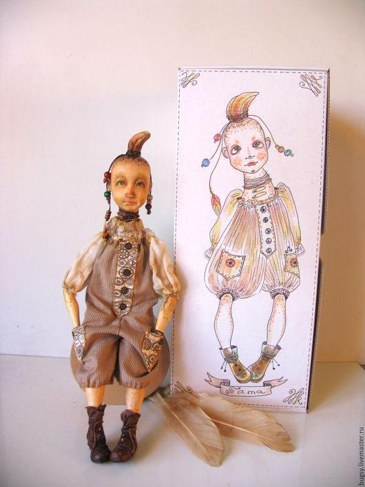 Коллекционные куклы ручной работы. Ярмарка Мастеров - ручная работа. Купить Тата, самостоятельная девочка и не терпит каких-либо возражений.. Handmade.