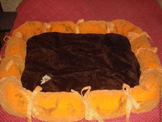 Аксессуары для собак, ручной работы. Ярмарка Мастеров - ручная работа. Купить лежак  для Лабрадора. Handmade. Лежак, поролон