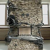 Для дома и интерьера ручной работы. Ярмарка Мастеров - ручная работа Оформление камина. Handmade.