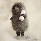 "Куклы и игрушки handmade. Livemaster - original item ""Hedgehog in the fog"".. Handmade."