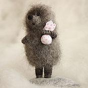 """Куклы и игрушки ручной работы. Ярмарка Мастеров - ручная работа """"Ёжик в тумане"""".. Handmade."""