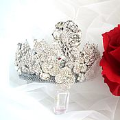 Украшения handmade. Livemaster - original item Crown silver large. Handmade.