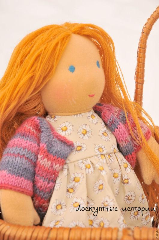 Вальдорфская игрушка ручной работы. Ярмарка Мастеров - ручная работа. Купить Вальдорфская кукла Танечка. Handmade. Бежевый, вальдорфские куклы
