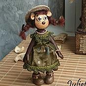 """Куклы и игрушки ручной работы. Ярмарка Мастеров - ручная работа Обезьянка """"Мэри"""". Handmade."""