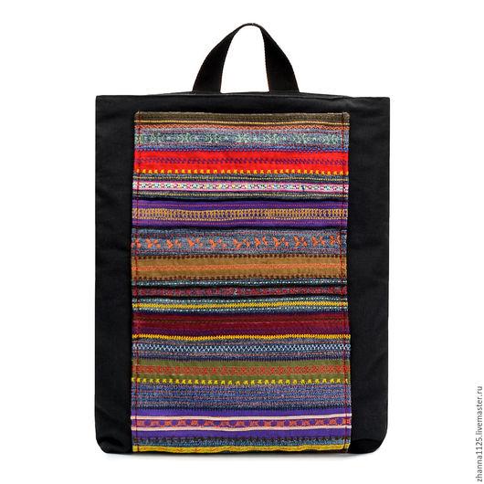 Рюкзаки ручной работы. Этнические рюкзаки. Handmade. Купить рюкзак от Zhanna Petrakova Atelier Moscow.