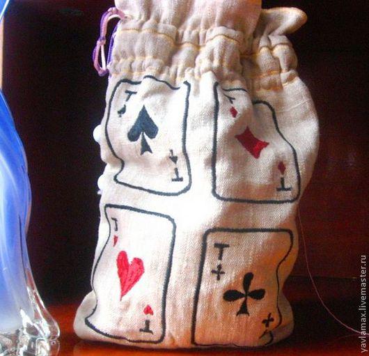 Подарочная упаковка ручной работы. Ярмарка Мастеров - ручная работа. Купить мешочек для подарков. Handmade. Подарок на день рождения, краснодар