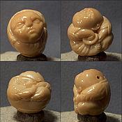 Куклы и игрушки handmade. Livemaster - original item Cook netsuke. Handmade.