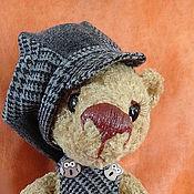 Куклы и игрушки ручной работы. Ярмарка Мастеров - ручная работа мишутка Ленчик. Handmade.