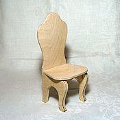Куклы и игрушки handmade. Livemaster - original item Chair for dolls c smooth back (price for basic version). Handmade.