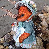 Куклы и игрушки ручной работы. Ярмарка Мастеров - ручная работа тедди-лиса Пелагея (друзья тедди). Handmade.