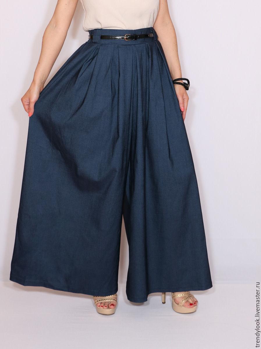 Из юбки сшить юбку брюки своими руками