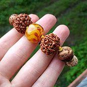 Украшения handmade. Livemaster - original item JOY-author`s braided bracelet with fire agate!. Handmade.